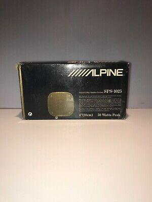 Alpine SPS-1025 Altavoz para Coche Coaxiales de 2 Vías