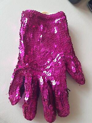 Michael Jackson Handschuh Kostüme (Michael Jackson Pailletten Handschuhe Selbst Genäht)