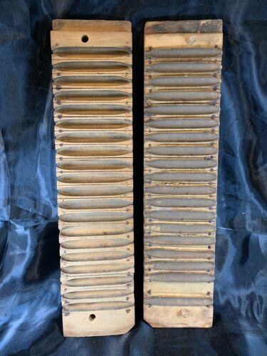 Vintage Wooden 20 slot Cigar Mold Press Tobacco Smoking 458