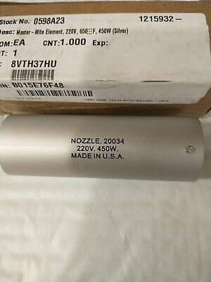 Master Appliance 20034 Silver Element 220v 650 Deg F 450w