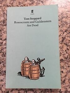 Rosencrantz and Guildenstern are Dead by Tom Stoppard EXCELLENT Scoresby Knox Area Preview