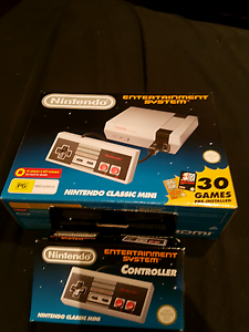 NINTENDO CLASSIC MINI NES PLUS ADDITIONAL CONTROLLER Preston Darebin Area Preview