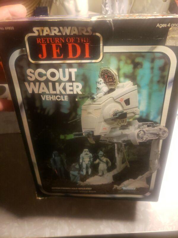 Star Wars ROTJ Scout Walker 1983