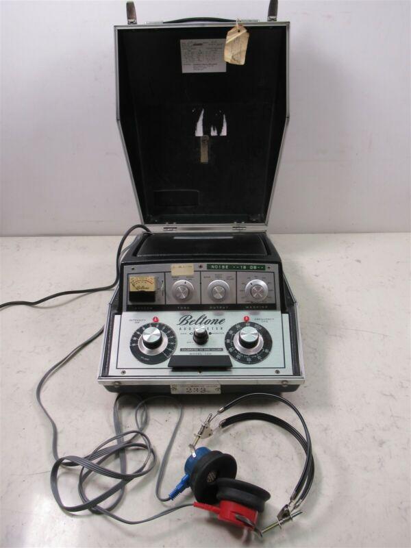 Beltone Audiometer 12D Vintage Lab Device with Beltone Headphones Hearing Test