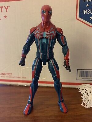 "Marvel Legends Spider-Man Velocity Suit 6"" Action Figure Gamerverse No Box"