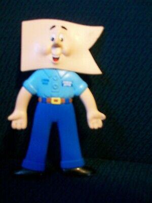 Champ Man Champion Auto Mascot Bendable Figure Vintage 1991