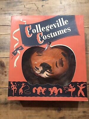 1950s Collegeville Costumes RARE lion Halloween mask