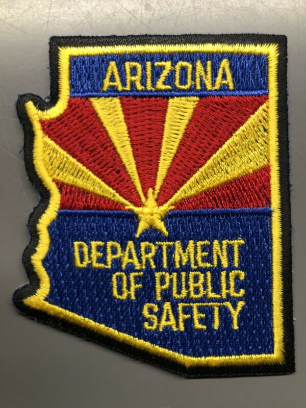 Arizona Department of Public Safety Hat Patch ~ Small