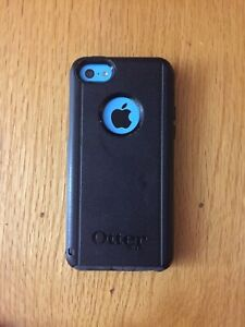 iPhone 5c - Blue + Otterbox case