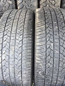 Two tires 255/70r16 lots of tread $50