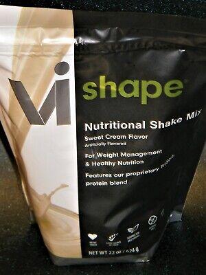 ViSalus Nutritional Shake Mix Sweet Cream Flavor 8-2021 Weight -