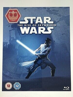 Star Wars The Rise Of Skywalker Blu-Ray With Limited Edition Resistance Sleeve.