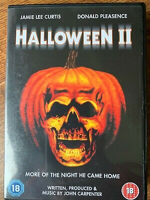 Halloween 2 DVD 1981 Michael Myers Horror Slasher Film II Mit Jamie Lee Curtis