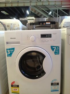 $30 delivery , hisense 7.5 kg front load washing machine