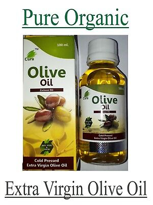 OLIVE OIL 100% PURE & NATURAL EXTRA VIRGIN FOR SKIN AND HAIR CARE - (Olive Oil Hair Care)