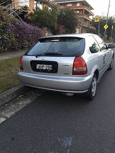 1999 HONDA CIVIC CXI SPORT HATCHBACK AUTO, SILVER, LONG REGO Manly Vale Manly Area Preview