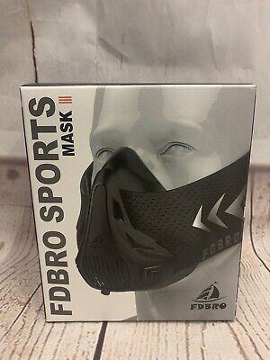 New FDBRO Sport Mask III Running Cardio Gym Weight Yoga Breathing Exercise Mask