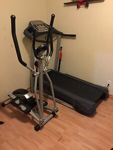 Elliptical + Treadmill