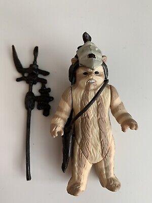 VINTAGE original 1984 STAR WARS Ewok Logray RETURN OF THE JEDI Complete