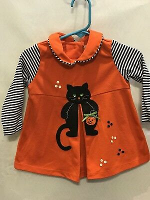 Rare Edition Halloween themed Baby Girl's Dress: 12 month