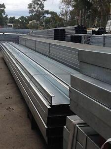 PURLIN-C CHANNEL BEAM 102MM*51MM*1.5MM FOR CARPORT ROOF BEAMS Smithfield Parramatta Area Preview