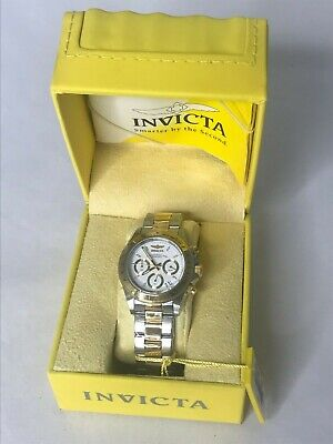 🔥Invicta Men's Speedway Chronograph 200m Two Tone Stainless Steel Watch 9212🔥