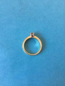 Birks Blue Engagement Ring Size 6