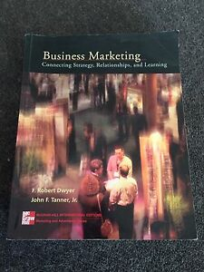 Business Marketing - Connecting Strategy, Relationships, Learning Southbank Melbourne City Preview