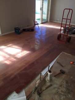 Floor boards timber floating approx 22 mtr square