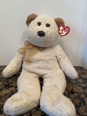 Ty Beanie Buddy Beige Bear