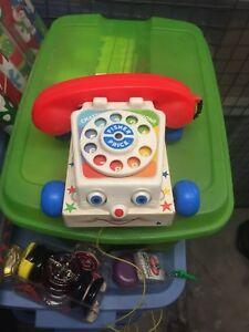 Vintage 1985 fisher price