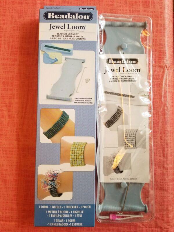 New in box Beadalon Jewel loom beading loom kit, instructions included