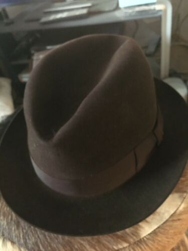 A Homburg style hat, once owned by Peter O'Toole