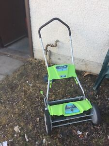 """18"""" Push lawn cutter earth wise generation"""