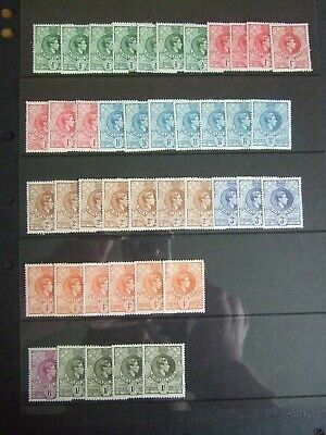 💥QUANTITY of MINT KGVI SWAZILAND STAMPS to 1/-  10 Photos💥