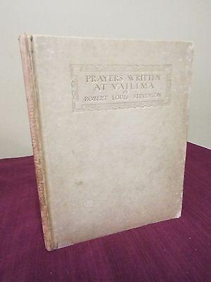 Prayers written at Vailima by Robert Louis Stevenson - Undated - Illuminated