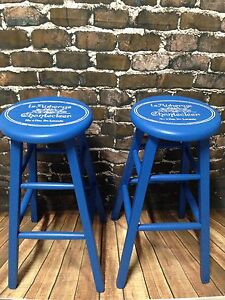 Set of 2 custom finished Bar Stools