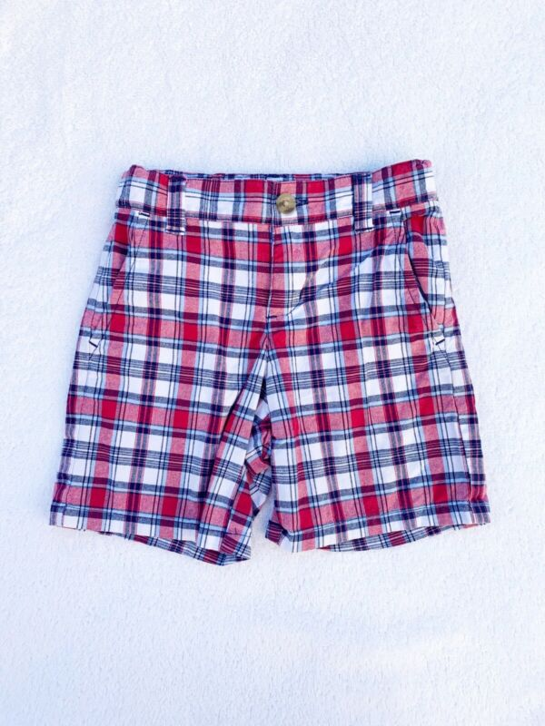 Janie and Jack Plaid Shorts Size 18-24 Months