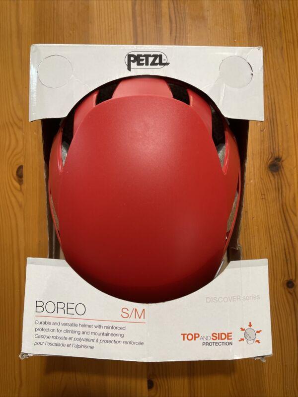 PETZL Boreo Rock Climbing Helmet, Red, Small/Medium