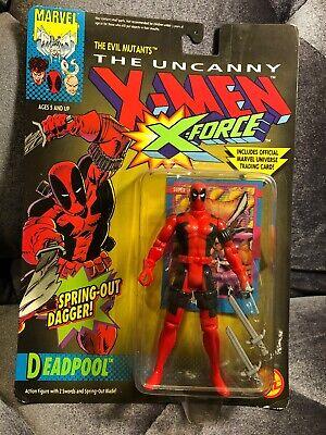 "1992 X-FORCE Uncanny X-Men 1st DEADPOOL 5"" Action Figure  MOC Marvel Toy Biz"