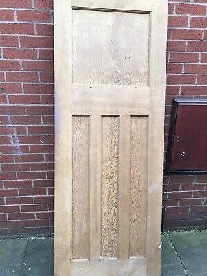edwardian Door Stripped Restored  78x28