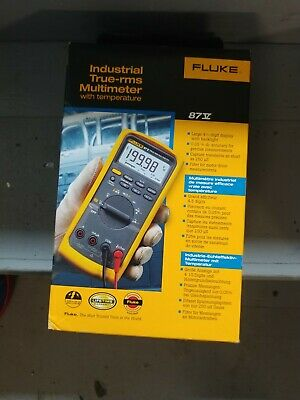 Fluke 87v Multimeter New In Box