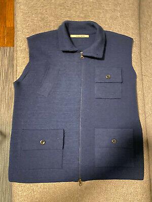 Hannes Roether. Men's Knit Vest. Size
