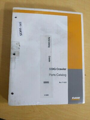 Case 550g Crawler Parts Catalog