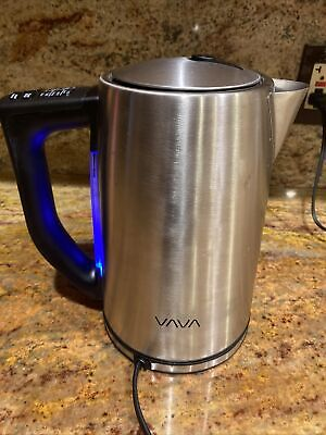 VAVA ELECTRONIC STAINLESS STEEL KETTLE 1.7 L