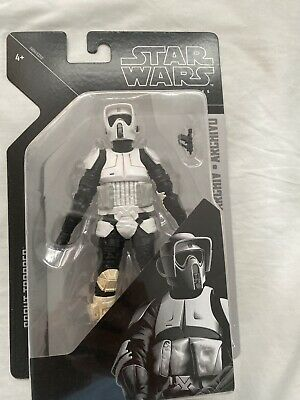 "Hasbro STAR WARS Black Series 6"" inch Archive Collection Scout Trooper"