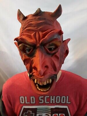 Vintage Topstone Devil Halloween Mask Keith Ward/ Not BSS Distortions LOOK rare - Halloween Feeling