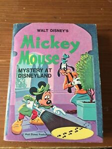 Mickey Mouse - Mystery at Disneyland - Little Big Book