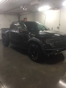 2014 ford raptor black
