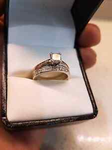 Diamond engagement ring and diamond Band Arncliffe Rockdale Area Preview